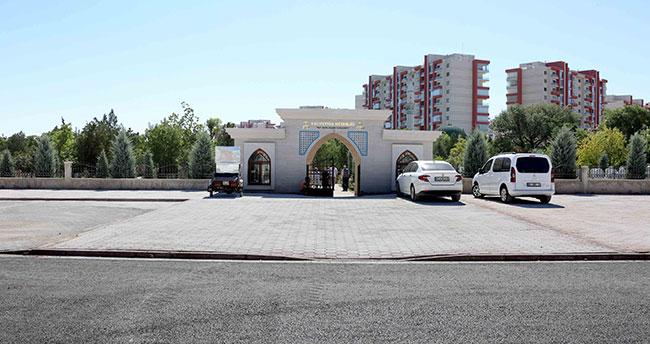 Meram Belediyesi Kurban Bayramına yetiştirdi: Hacıfettah Mezarlığına namazgah ve otopark