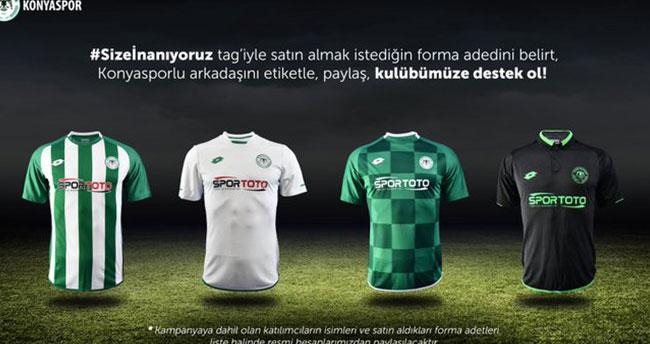 Konyaspor forma satışında hedefi yakaladı