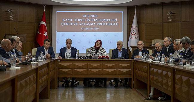 Hükümet ile Türk-İş zam konusunda anlaştı! Kamu işçisine yüzde 8+4 zam