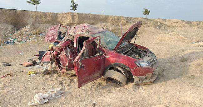 Aksaray-Konya karayolunda otomobil devrildi: 3 ölü, 4 yaralı