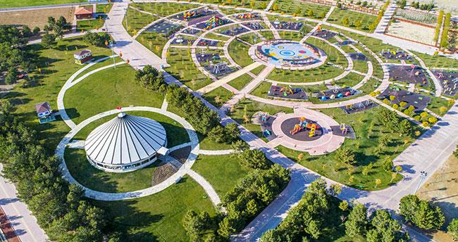 Dutlu Millet Bahçesi, Konya'nın yeni gözdesi