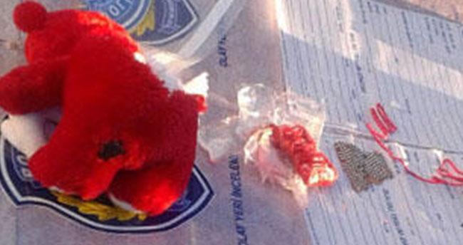 Konya'da oyuncak ayının içine gizlenmiş patlayıcı ele geçirilmesi olayında 2 tutuklama!
