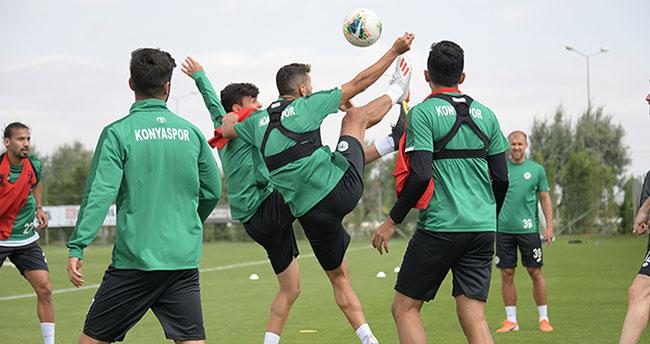 Konyaspor'da Galatasaray maçı hazırlıkları başladı
