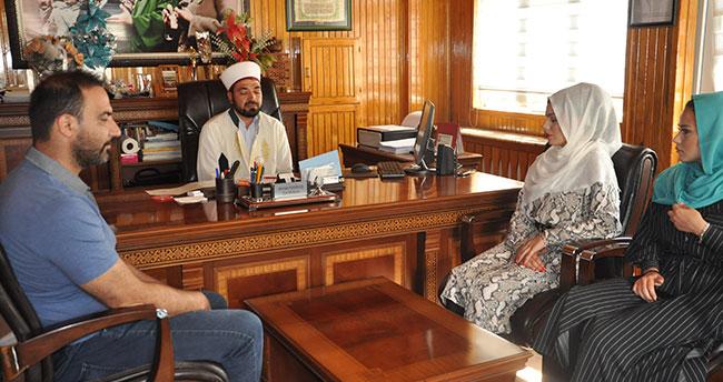 Avusturyalı Stefani Anrain, Konya'da Müslüman oldu