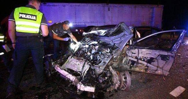 Konyalı gurbetçiler dönüş yolundaki kazada hayatını kaybetti