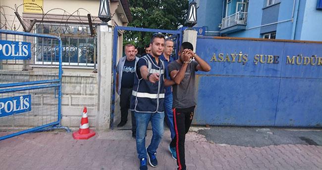 Konya'da evlerden telefon ve elbise çalan şüpheli yakalandı