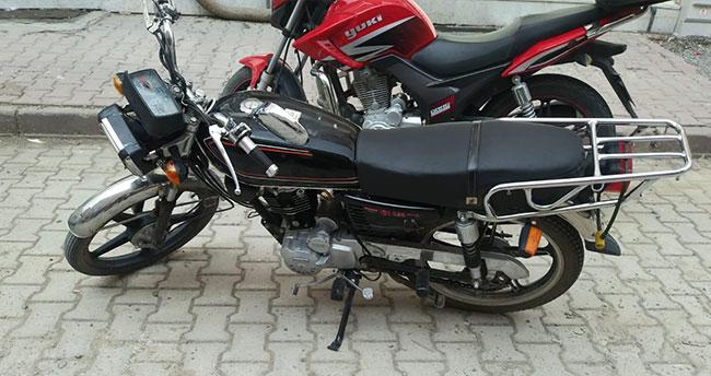 Konya'nın bu ilçesinde plakasız, ruhsatsız ve belgesiz motosikletler toplanıyor