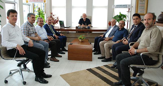 Yeni Meram Gazetesi'nin yeni yönetimine ziyaretler sürüyor