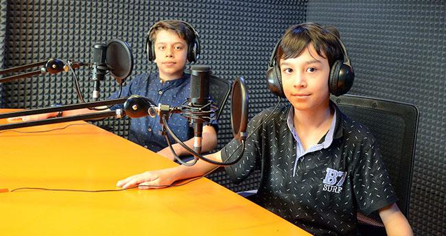 Genç KOMEK Çocuk Radyosu dinleyiciye seslendi