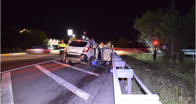 Konya'daki feci kazadan bir acı haber daha! Ağır yaralanan baba hayatını kaybetti
