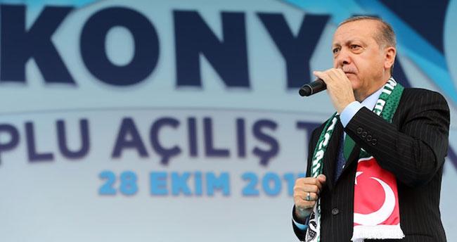 Cumhurbaşkanı Erdoğan 1 Eylül'de Konya'da