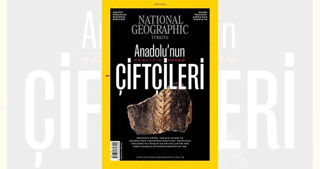 Konya'daki Boncuklu Höyük Natıonal Geographıc Türkiye'nin Ağustos sayısına kapak oldu