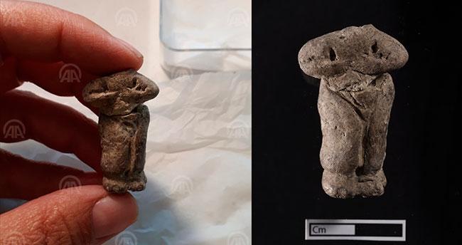 Çatalhöyük'te yeni heykelçikler bulundu