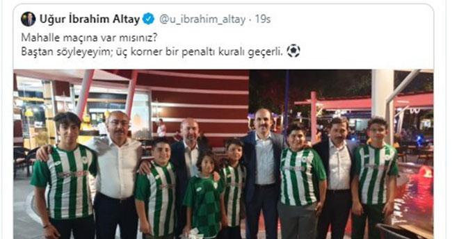 Belediye başkanlarının 'mahalle maçı' iddiası