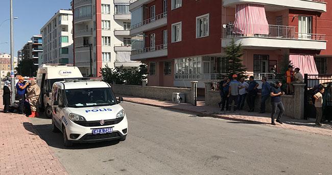 "Konya'da apartmanda ""gaz kokusu"" paniği"