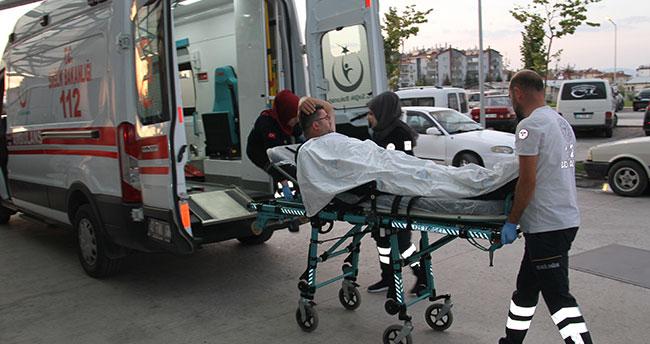 Konya'da taksicilerin silahlı kavgası: 1 yaralı!