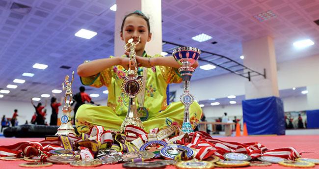 11 yaşındaki Konyalı milli sporcu 7 yıla 38 madalya ve 3 kupa sığdırdı
