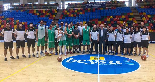 Konya Basket'e ziyaret