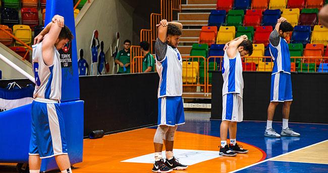 Konya Basket harıl harıl