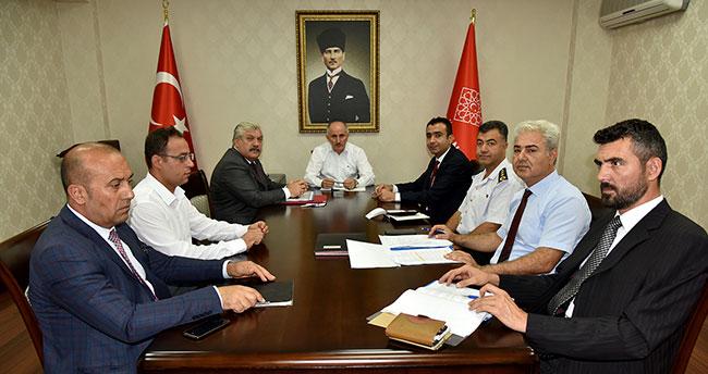 Karaman'da Bağımlılıkla Mücadele Toplantısı