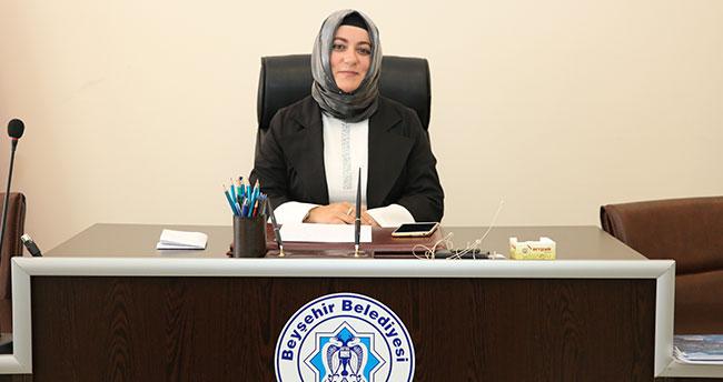 Beyşehir Belediyesinin ilk kadın belediye başkan vekili