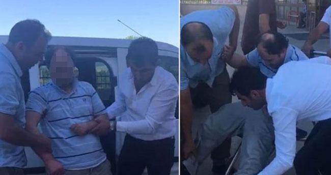 """Konya'da aranan FETÖ'nün """"mahrem abisi"""" yakalanınca polise zor anlar yaşattı"""