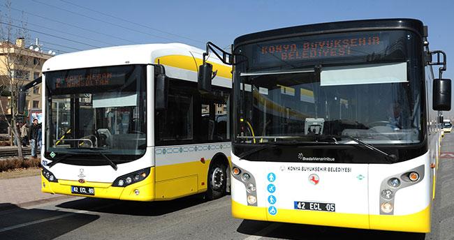 Konya'da otobüs tarifesi değişti!