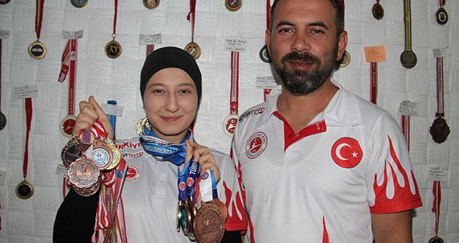 Konyalı milli kick boksçudan 3,5 yılda 15 madalya