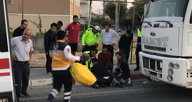 Karaman'da tırın çarptığı yaşlı kadın yaralandı