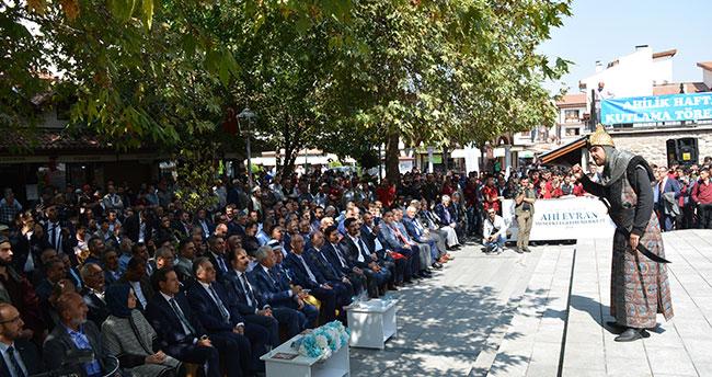 """Konya'da """"Ahi Esnaf Yürüyüşü"""" gerçekleştirildi"""