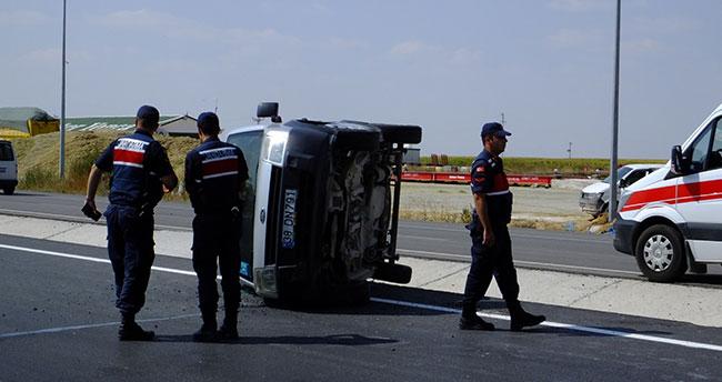 Aksaray-Konya kara yolunda kaza: 5 yaralı!