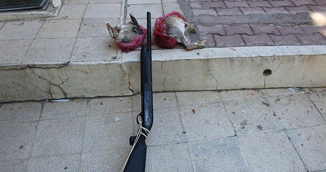Konya'da kaçak avcı yakalandı