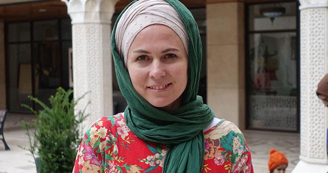 Müslümanlığı seçen Hırvat Halime Mevlana aşkı için ve Konya'da yaşamaya başladı