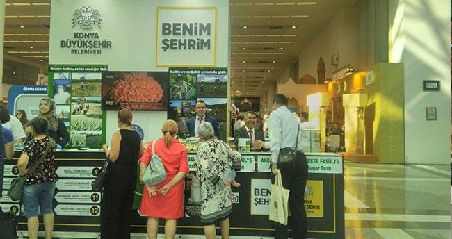 Beyşehir'in Şeker Fasülyesi başkentte görücüye çıktı