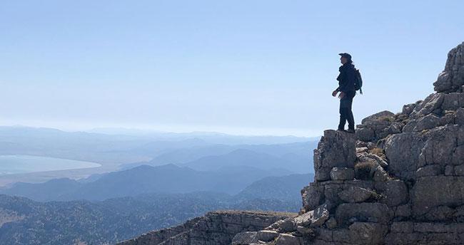 Küpe Dağı doğa tutkunlarını büyülüyor