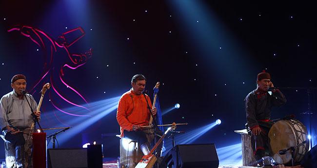 Konya Mistik Müzik Festivali'nde Huun Huur Tu müzik grubu sahne aldı