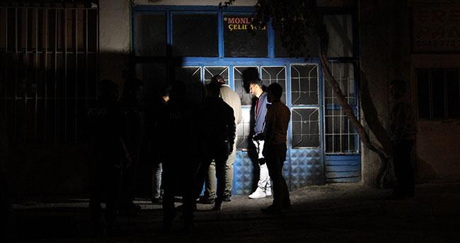 Karaman'da bir iş yeri kapısına benzin dökülerek kundaklanmak istendi