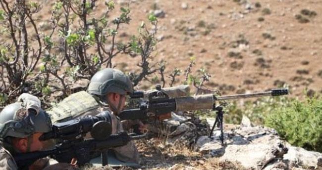 Kıran' operasyonlarında terör hedefleri ateş altında