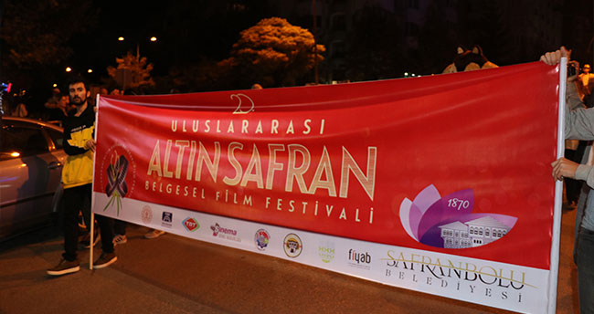 Uluslararası Atın Safran Belgesel Film Festivali başladı