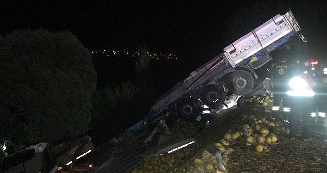 Konya'da iki kişinin öldüğü kazada tır şoförü tutuklandı