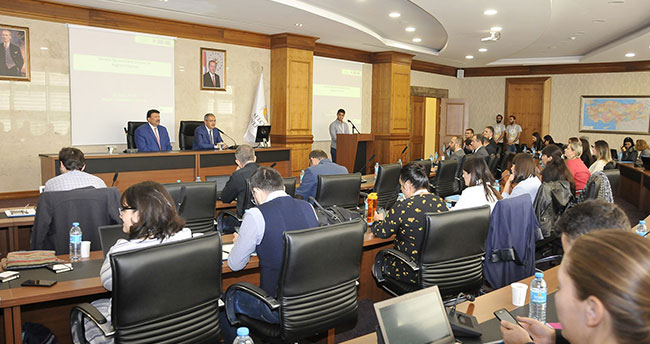 SÜ'de Kağıtsız Erasmus (EWP) ve OLA Çalıştayı yapıldı