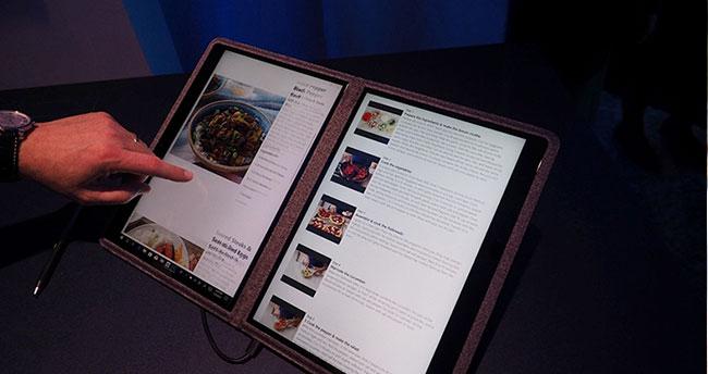 Microsoft'un Yeni İşletim Sistemi Windows 10X, Çift Ekranlı Cihazlarda Kullanılacak