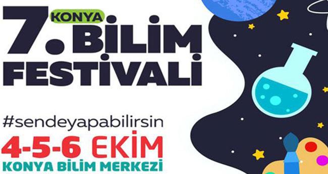 7. Konya Bilim Festivali başlıyor