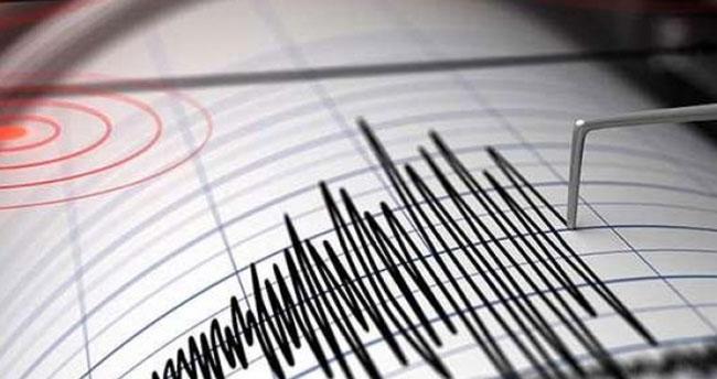 Akdeniz'de 5 büyüklüğünde deprem oldu