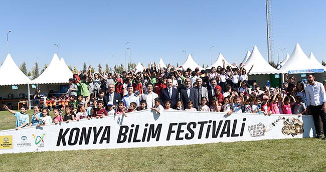 7. Konya Bilim Festivali başladı! 3 gün boyunca ziyarete açık olacak