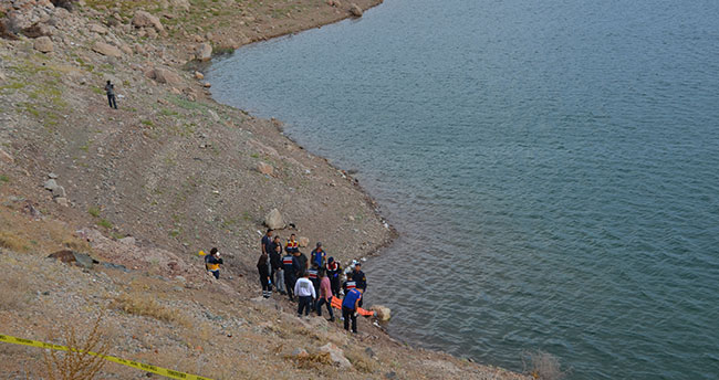 Karaman'da baraj gölünde erkek cesedi bulundu
