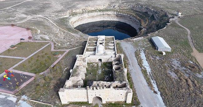 Konya'daki Obruk Gölü kesin koruma altında!