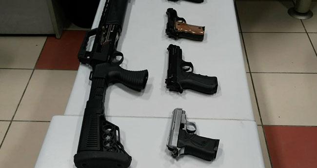 Konya'daki düğünlerde 7 silah ele geçirildi