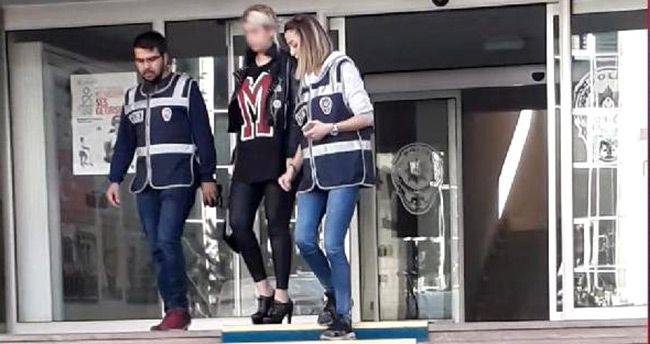 Aziziye Tabyası'nda mayolu fotoğraf çektiren kadın gözaltına alındı