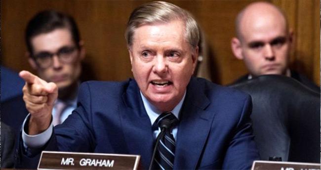 Cumhuriyetçi Senatör Graham'dan Türkiye'ye tehdit: Cehennemden gelme yaptırımlar takip edecektir